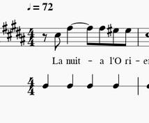 合唱曲等のパート音源をお作りします 教会の聖歌隊ピアニストがあなた専用パート音源を作ります。