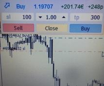 FX 便利なツール 販売します MT4のチャート上でエントリーできます! bo