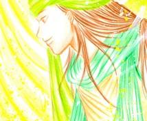 あなたの過去世(前世)のお姿を絵にしてお描きします あなたの過去世(前世)をお描きして才能開花をサポートします。