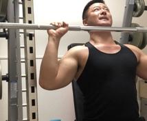 初心/中級者向け結果が出る筋トレ法を教えます 1か月で効果を体感、実感できる専用のトレーニングメニュー