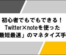 本気でTwitter×noteの販売戦略教えます Twitterフォロワー1000人以下でもできるマネタイズ!
