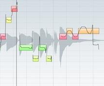 ボーカルの音程(ピッチ)修正、タイミング修正します
