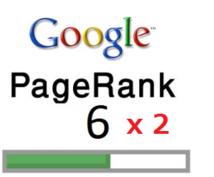 PR 6 のブログ2つから被リンク付けます 被リンクを付けるサービスです。