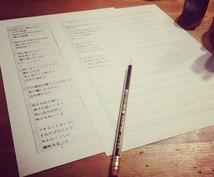 【作曲】あなたが書いた歌詞を曲にします