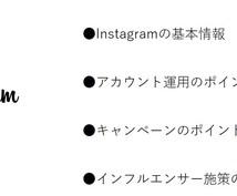 Instagram活用ノウハウの指南書を渡します これを見ればInstagramの広告活用の基本は完璧!
