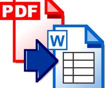 PDF形式の申請書等のファイルをワードで作ります