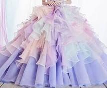 結婚式ドレスアドバイスします 元衣裳スタイリストが何度でも相談にのります