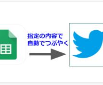 Twitterの自動つぶやきbot作成します Twitterのつぶやき運用作業を自動化します!!!
