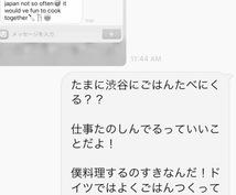 英語圏の外国人さんとのメッセージ翻訳いたします LINEがくるけどなんて書いてあるかわからない!そんな時に!