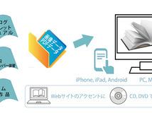 本をめくる感覚をウェブで閲覧、マルチデバイス対応のデジタルブック
