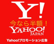 Yahoo!のPPC広告が無料で使えます 何か商売をやっている方にオススメです!