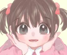 女の子のキャラクターイラスト作成します ショップやアイテムのイメージキャラクターにいかがですか