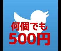 大好評!人気ランキング6位【何個でも500円】フォロワー1万人の垢でRTや代理ツイートします。