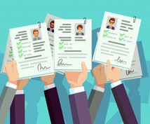 履歴書•ES添削します 就職活動における各種資料の添削を支援いたします。