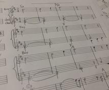 あなたの曲を譜面に起こします オリジナル曲をバンドで演奏したい、各パートメロ譜が欲しい方
