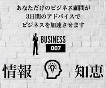 ビジネス顧問があなたのビジネスをサポートします 知恵を手に入れたくて悩んでいる方は是非ご相談を!