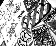 graffiti オーダーメイド ステッカー