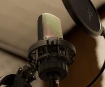 セリフや会話の音声編集(音量調整、ノイズ除去、ケバ取り、ファイル整理など)をします♪