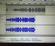 音素材の編集やります!