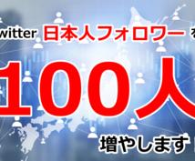 Twitter日本人フォロワー100人増やします アクティブな日本人フォロワーを増やしたい方必見!