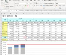 Excelデータ化対応します 名刺・グラフ・家計簿なんでもどんとこいです