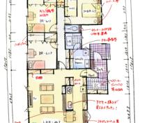 木造の新築住宅の間取り添削、補足、アドバイスします 夫婦設計士2人による設計のセカンドオピニオン!