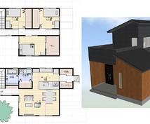 理想の家造りのお手伝いをします 建築士の資格保持者による「早い・安い・上手い」間取りの提案
