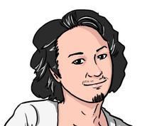 お好きな写真から似顔絵イラスト描きます。