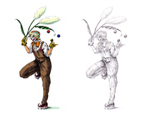 アイコン、ヘッダー、キャラクターデザイン承ります ご要望に沿った画風の描き分けも得意です!