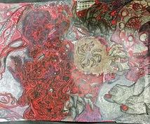 テーマに沿った創造的なイラスト描きます イラスト好きな方 創造画 を好みの方