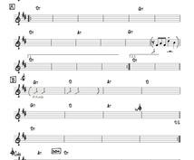 初心者〜プロまで、あたなが欲しい楽譜を作ります コード譜から、初級〜上級のピアノ譜、耳コピーまで幅広く対応!