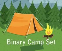 キャンプに出かけるような楽しいバイナリー教えます たった一つのオシレーターの特殊な形を見つけるだけの簡単手法!