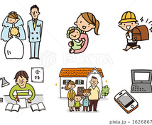 国家資格FP1級がキャッシュフロー表を作成します ご結婚・ご出産等されて、貯蓄の計画を立てようとしている方