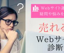 少集客⇒高売上【売れるWebサイト診断】をします ホームページ・ブログの集客・売上でお悩みのあなたへ