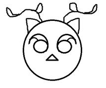 ペイントを使った簡単なキャラクターやイラスト作成。