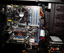 自作PCのお手伝いをいたします。