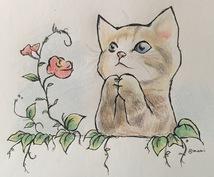 【手書き/色鉛筆画】あったか手描き似顔絵・ワンポイントイラストをお届けしますヽ(≧▽≦)ノ♪