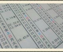 占星術にて恋愛に良い時間を割り出した暦を送ります 占いに興味がある方に最適です!