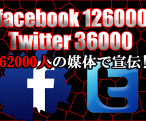 【19万6000人】のFacebook&Twitter媒体であなたのココナラサービスを宣伝します‼︎