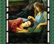 画像付き:天使が微笑みご神託します 5種類のエンジェルオラクルカードから2枚選んで頂けます