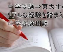 将来を見据えた中学受験の相談お受けします 中学受験⇒東大経験を踏まえたアドバイスをお求めの親御様へ