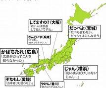 コトバ「標準語」⇔「関西弁・広島弁」変換します セリフや文章で方言を使いたい方、お手伝いします!