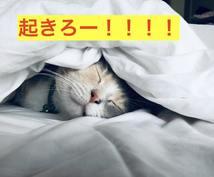 朝が苦手なあなたへ!起こすのをお手伝いします 最高の朝を迎えて、最高の1日を過ごしましょう