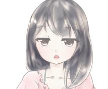 可愛すぎないかわいいアイコン・似顔絵お描きします アイコンがほしいけど、可愛すぎるのはちょっと…という方に