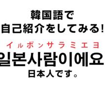 初心者から上級韓国語までビデオで指導します 手軽に韓国語学習◎何でも聞きましょう!
