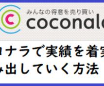2018最新版 ココナラ実績を上げる方法教えます ココナラで実績が出ない方、この方法で着実に売り上げアップ!