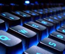 データ入力、文字起し承ります キーボード操作が苦手、自分でやるのは面倒、お任せください!!
