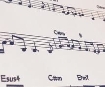 オリジナル曲のメロディー譜書きます 迅速・丁寧・綺麗にオリジナル曲の楽譜を作成!