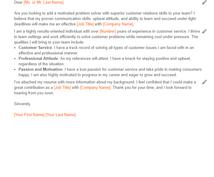 英語レジュメのフォーマットを提供します 無料特典:就職ワークショップで入手したサンプルレジュメ