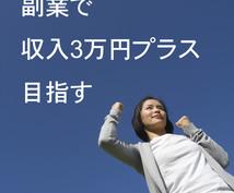 副業アドバイス★あなたの収入を増やします 「あと3万円あれば」を叶える、あなたに合った副業を提案します